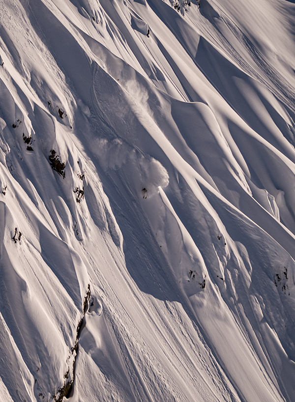 Tanner Rainville takes advantage of Points North Heli-Adventures' enormous southeastern Chugach tenure.