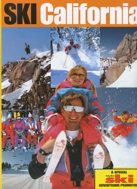 Amie Engerbreston on SKI California magazine