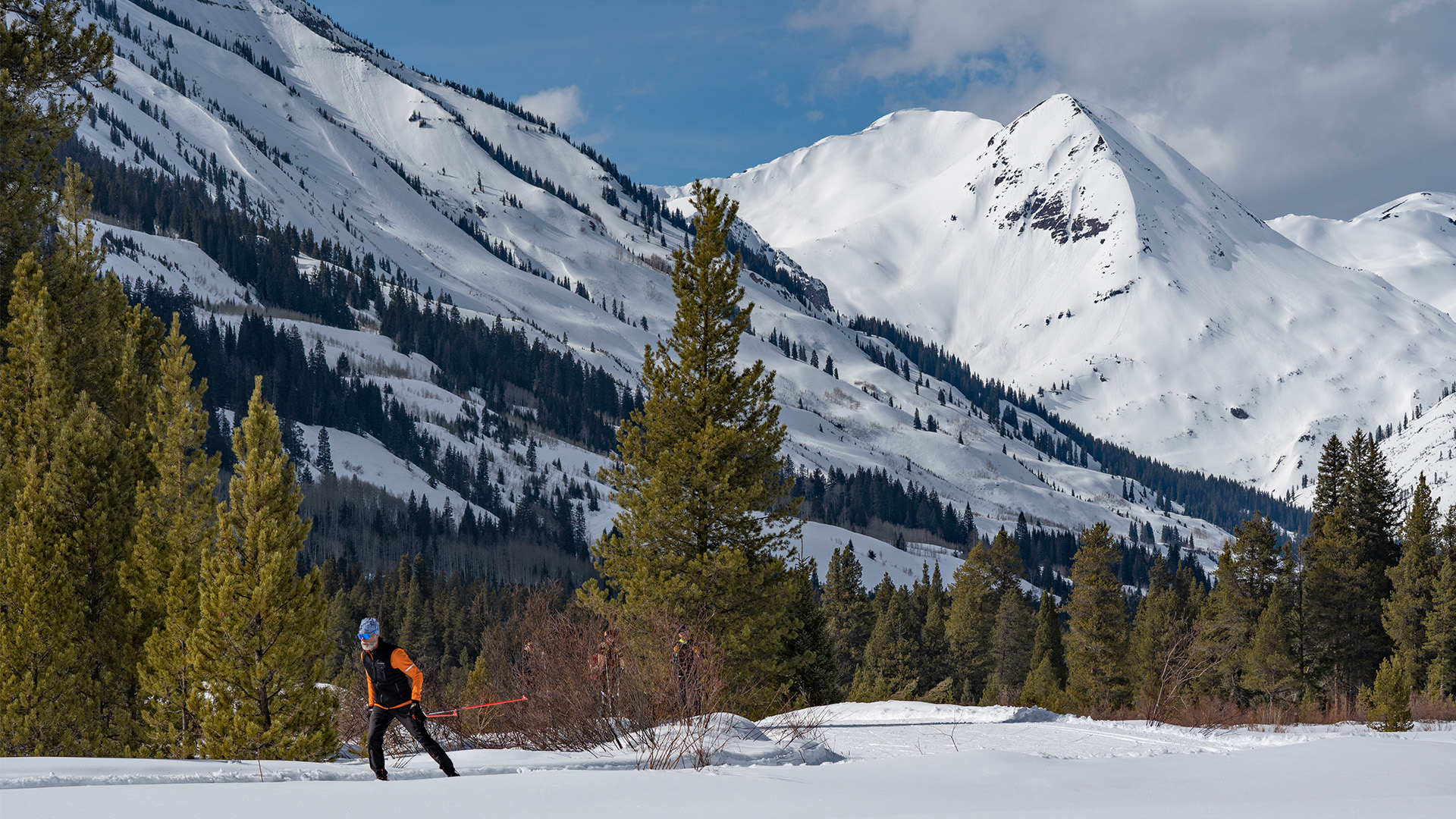 Nordic Skier in Crested Butte