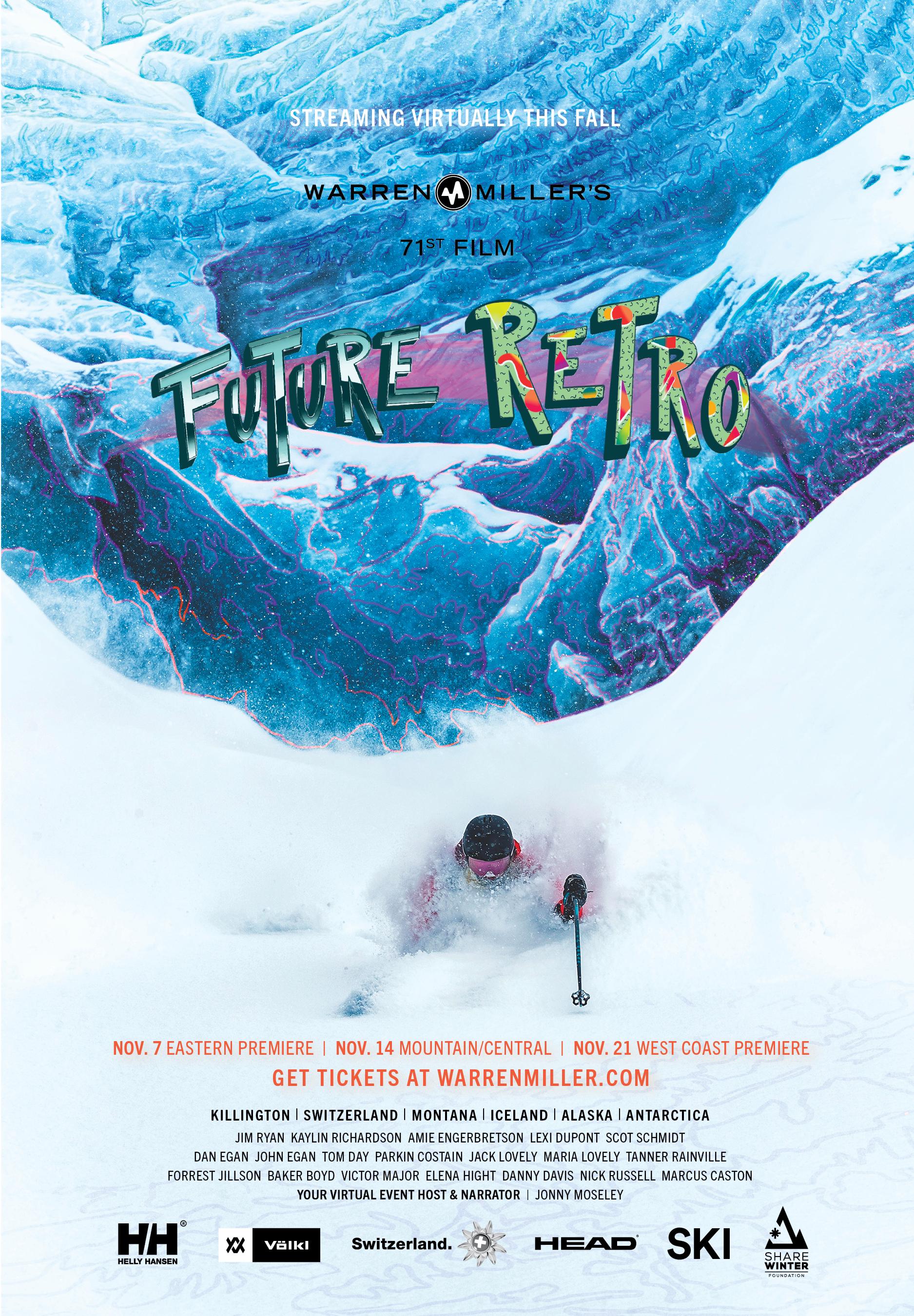 Future Retro Poster